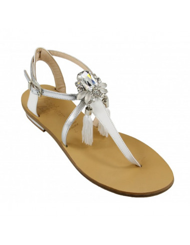 Sandali artigianali gioiello Vera