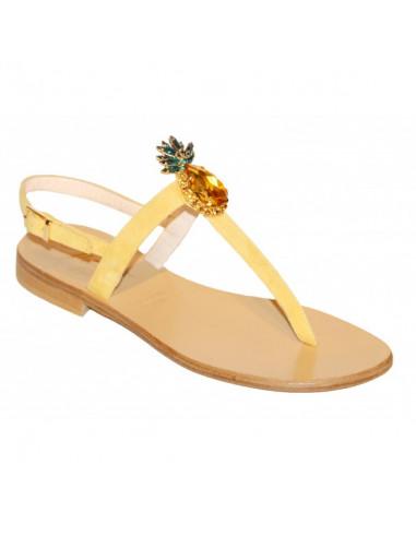 Sandali artigianali gioiello Eleonora