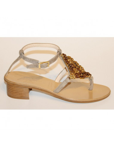 Sandali artigianali gioiello Lina