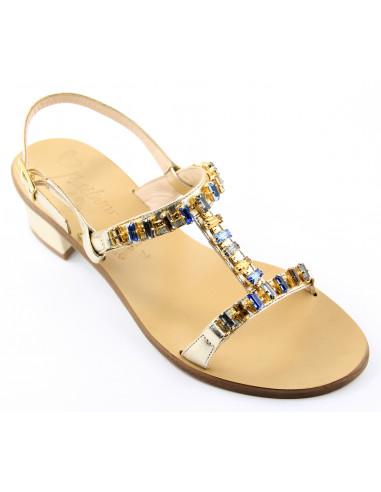Sandali artigianali gioiello Alessia