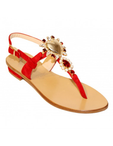 Sandali artigianali gioiello Stefy