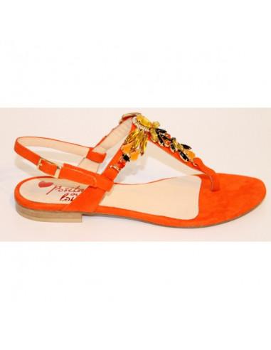 Sandali artigianali gioiello Carla