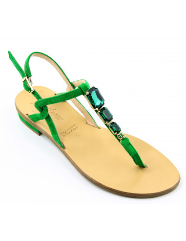 Sandali artigianali gioiello Flo