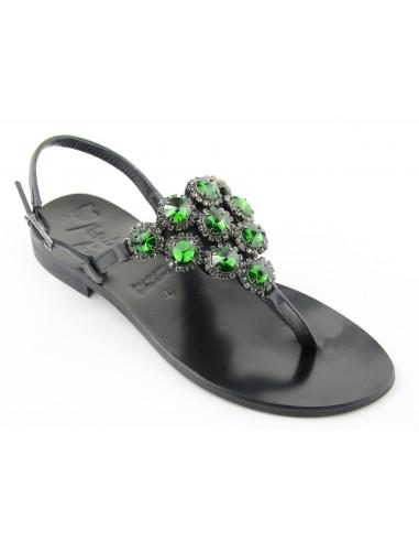 Sandali artigianali gioiello Noemi