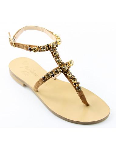 Sandali artigianali gioiello Manu
