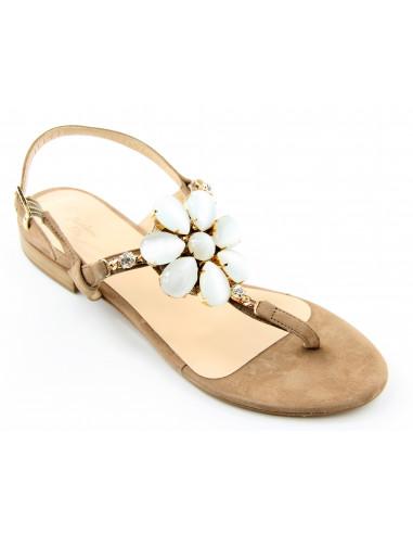 Sandali artigianali gioiello Conny