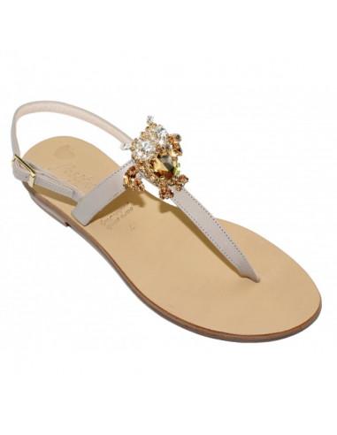 Sandali artigianali gioiello Venere