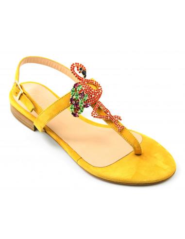 Sandali artigianali gioiello Pamela