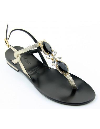 Sandali artigianali gioiello Elysa