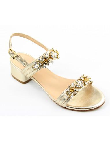 Sandali artigianali gioiello Laura